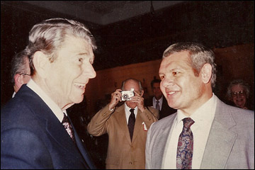 mike with ronald reagan reagan